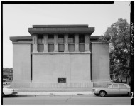 Historic_American_Buildings_Survey_Philip_Turner,_Photographer_June_1967_EXTERIOR-_LOOKING_SOUTH_-_Unity_Temple,_875_Lake_Street,_Oak_Park,_Cook_County,_IL_HABS_ILL,16-OAKPA,3-2.tif
