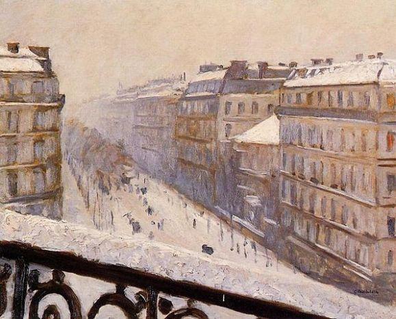 595px-Gustave_Caillebotte_-_Boulevard_Haussmann,_effet_de_neige