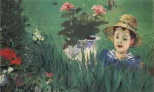 edouard_manet_-_boy_in_flowers_jacques_hoschede_-_google_art_project