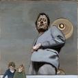 freud-lucian-reflet-avec-deux-enfants-autoportrait-1965