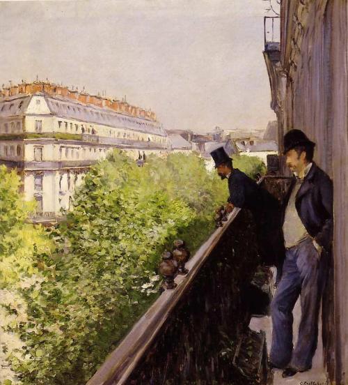 G._Caillebotte_-_Un_balcon_(1880)