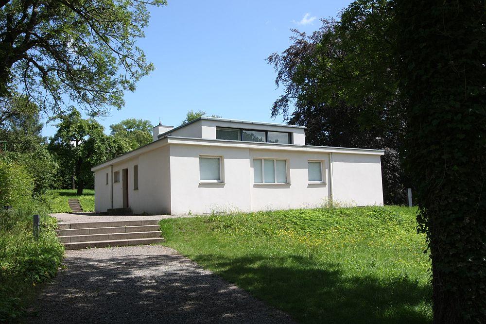 les 20 plus c l bres maisons d architectes construites de 1910 1928 l entr e dans la. Black Bedroom Furniture Sets. Home Design Ideas